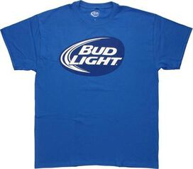 Bud Light Oval Logo T-Shirt