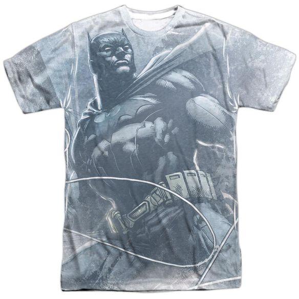 Batman Protector Short Sleeve Adult Poly Crew T-Shirt