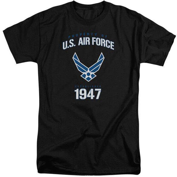 Air Force Property Of Short Sleeve Adult Tall T-Shirt