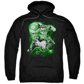 Green Lantern Lantern Planet Adult Pull Over Hoodie