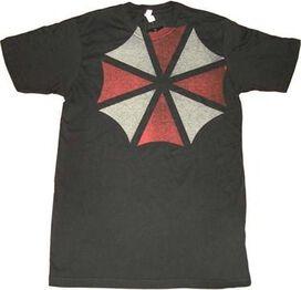 Umbrella Corporation Shoulder Logo T-Shirt
