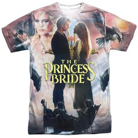 Princess Bride Soft Collage Short Sleeve Adult Poly Crew T-Shirt