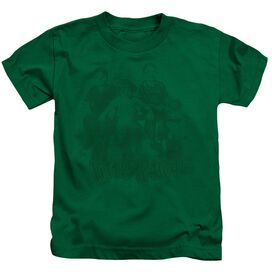 LITTLE RASCALS THE GANG - S/S JUVENILE 18/1 - KELLY GREEN - T-Shirt