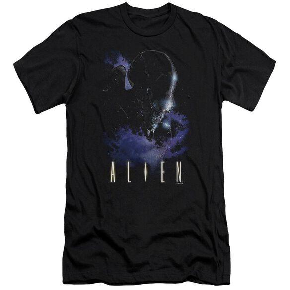 Alien In Space Premuim Canvas Adult Slim Fit