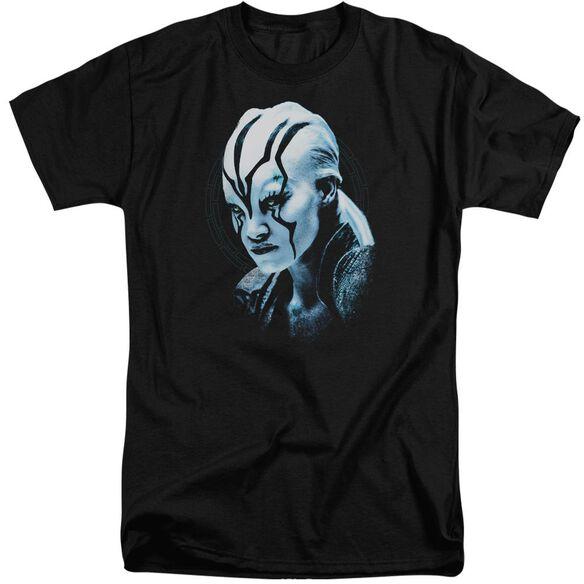 Star Trek Beyond Jaylah Burst Short Sleeve Adult Tall T-Shirt