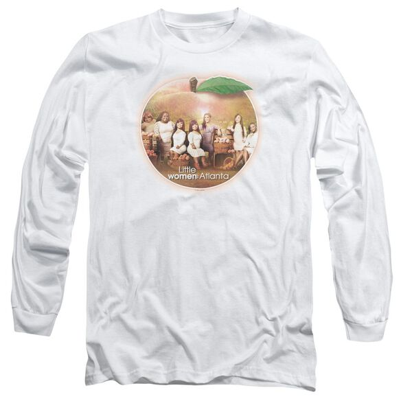 Little Women Atlanta Peach Pie Long Sleeve Adult T-Shirt