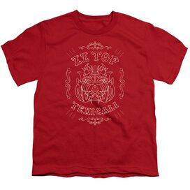 Zz Top Texicali Demon Short Sleeve Youth T-Shirt
