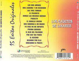 Los Cadetes de Linares - 15 Exitos Originales [Univision]