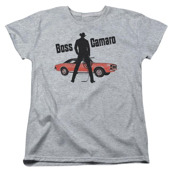 Chevrolet Boss Short Sleeve Womens Tee Athletic T-Shirt