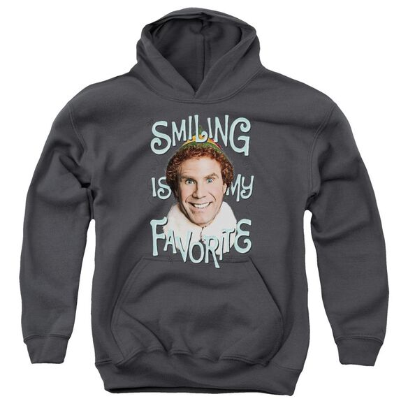 Elf Smiling Youth Pull Over Hoodie