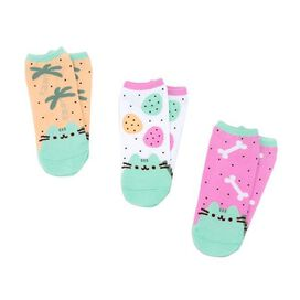 Pusheen Dino Socks [3 pack]