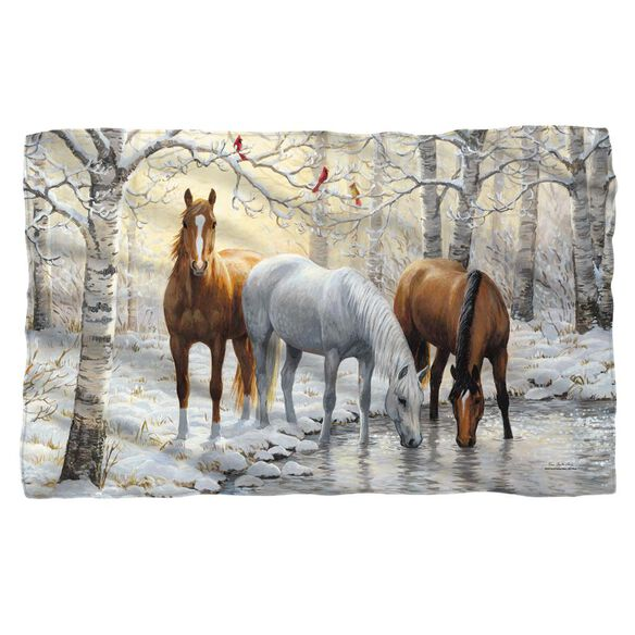 Wild Wings Frosty Sunshine 2 Woven Throw