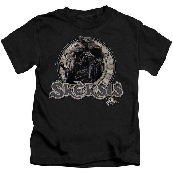 Dark Crystal Skeksis Short Sleeve Juvenile Black T-Shirt