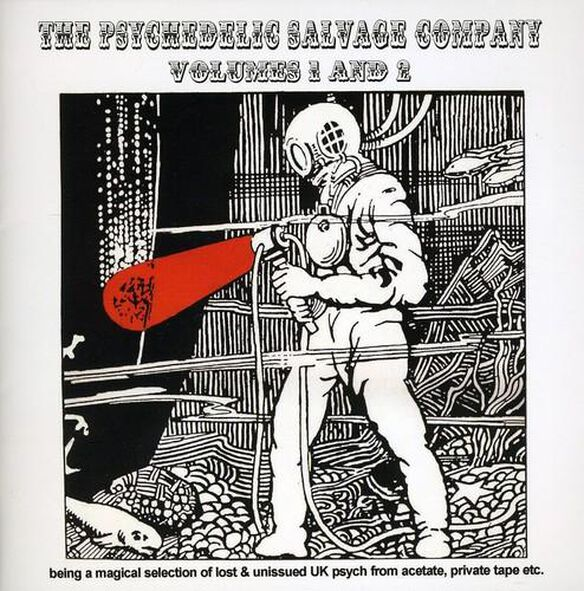 Various Artists - The Psychedelic Salvage Company, Vol. 1 and 2