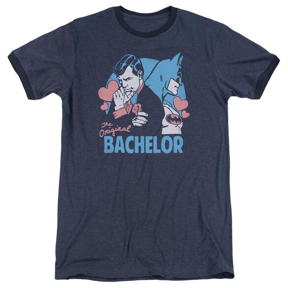 Dc Bachelor Adult Heather Ringer Navy