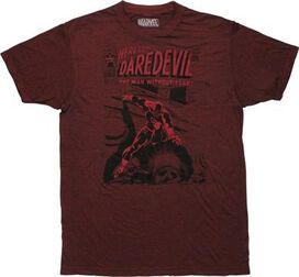 Daredevil Here Comes The Man Without Fear T-Shirt
