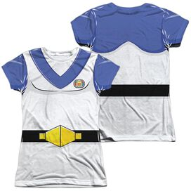Voltron Lance Costume (Front Back Print) Short Sleeve Junior Poly Crew T-Shirt