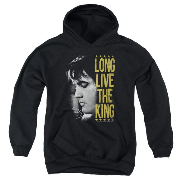 Elvis Long Live The King Youth Pull Over Hoodie