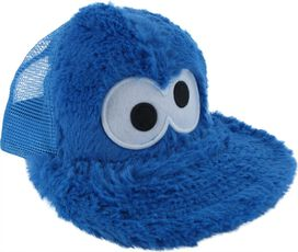 Sesame Street Fuzzy Cookie Monster Youth Hat