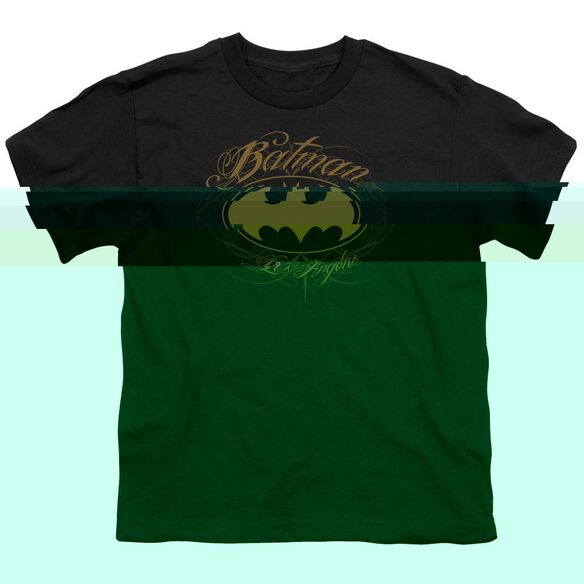 BATMAN BATMAN LA - S/S YOUTH 18/1 - BLACK T-Shirt