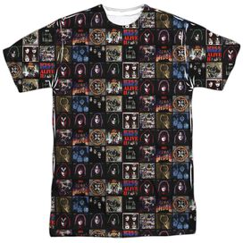 Kiss Album Covers Short Sleeve Adult Poly Crew T-Shirt