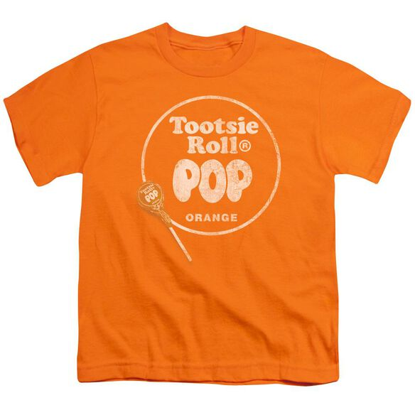 Tootsie Roll Pop Logo Short Sleeve Youth T-Shirt