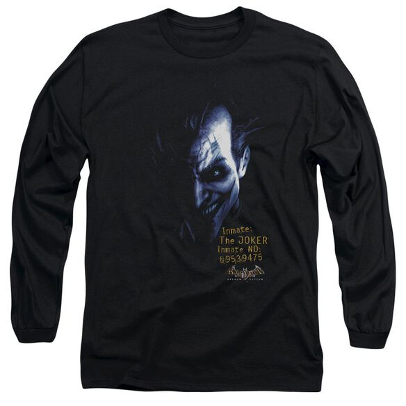 Batman Aa Arkham Joker Long Sleeve Adult T-Shirt