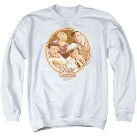 Andy Griffith Boys Club - Adult Crewneck Sweatshirt - White