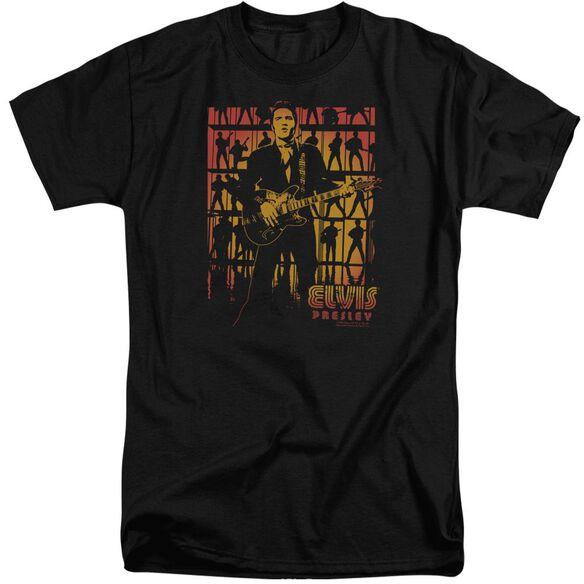 Elvis Comeback Spotlight Short Sleeve Adult Tall T-Shirt