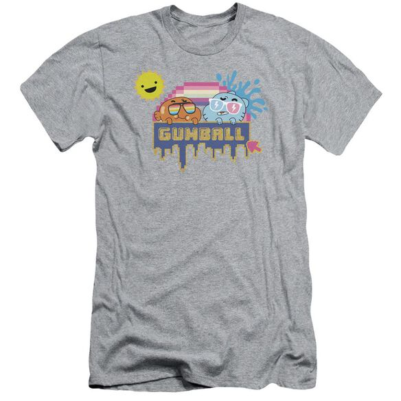 Amazing World Of Gumball Sunshine Short Sleeve Adult Athletic T-Shirt