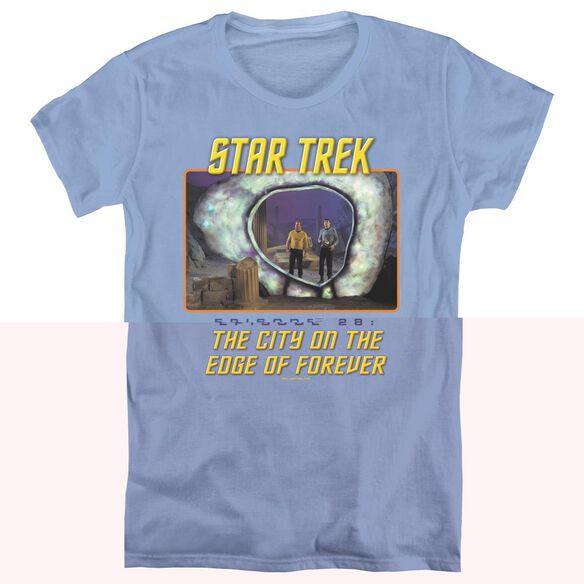 ST ORIGINAL EDGE OF FOREVER - S/S WOMENS TEE - CAROLINA BLUE T-Shirt