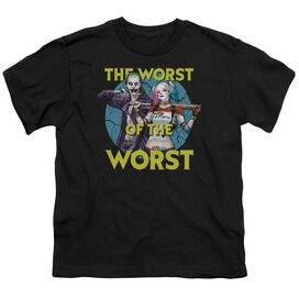 Suicide Squad Worst Pair Short Sleeve Youth T-Shirt