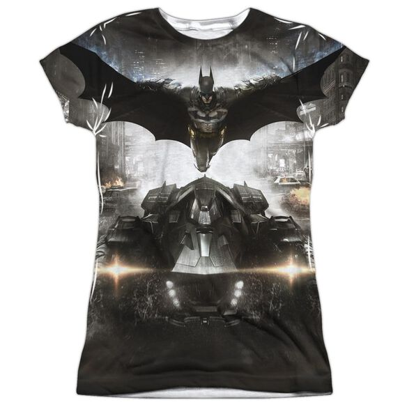 Batman Arkham Knight Poster Short Sleeve Junior Poly Crew T-Shirt