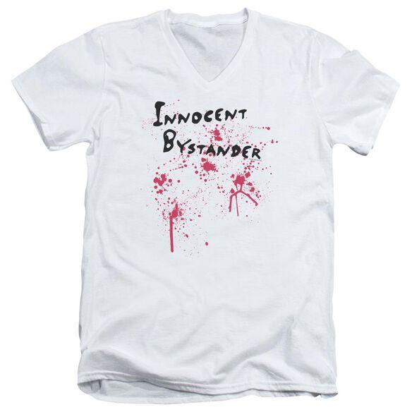 Innocent Bystander Short Sleeve Adult V Neck T-Shirt