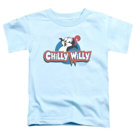 CHILLY WILLY LOGO - S/S TODDLER TEE - LIGHT BLUE - MD (3T) - LIGHT BLUE - T-Shirt