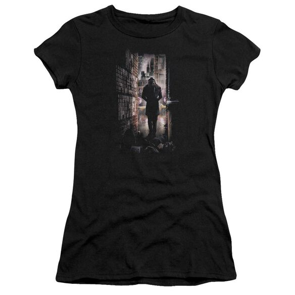 Watchmen Alley Short Sleeve Junior Sheer T-Shirt