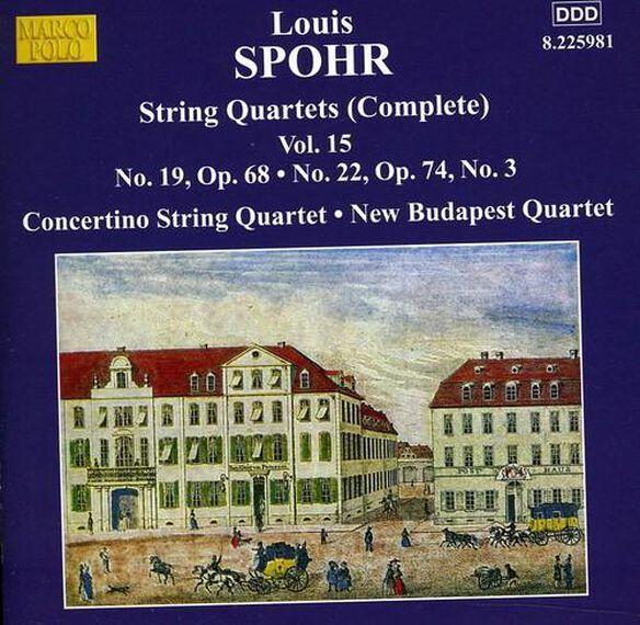 Spohr: Quartets Nos 19 & 22
