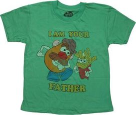 Mr Potato Head I'm Your Father Youth T-Shirt