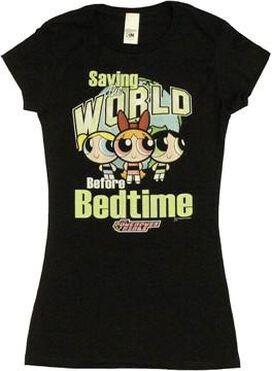 Powerpuff Girls Saving World Baby Tee