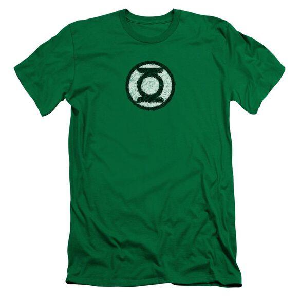 Lantern Scribble Lantern Logo Short Sleeve Adult Kelly T-Shirt