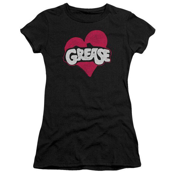 Grease Heart Premium Bella Junior Sheer Jersey