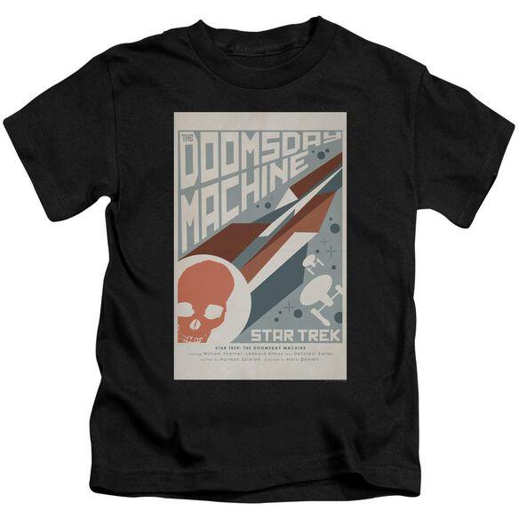 Star Trek Tos Episode 35 Short Sleeve Juvenile Black T-Shirt