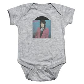 Joan Jett Rock N Roll 45 Infant Snapsuit Athletic Heather