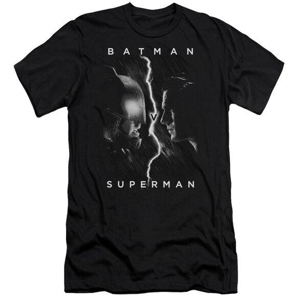 Batman V Superman Face To Face Short Sleeve Adult T-Shirt