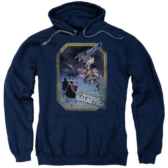Bsg Poster Iron On Adult Pull Over Hoodie