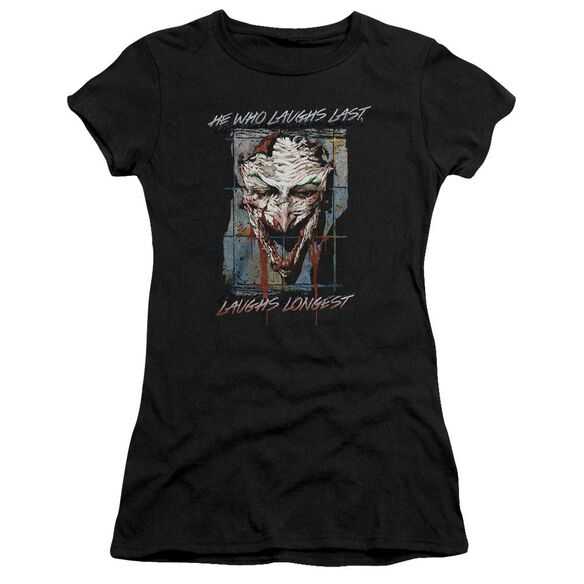 Batman Just For Laughs Short Sleeve Junior Sheer T-Shirt