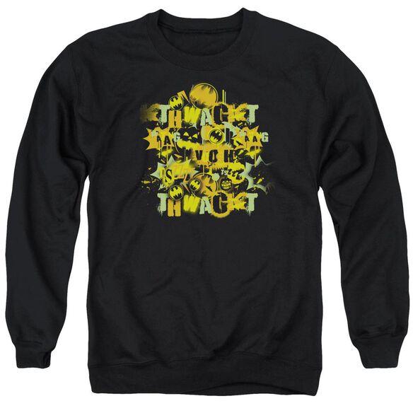 Batman Halloween Knight Sounds Adult Crewneck Sweatshirt