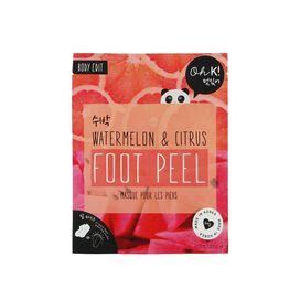 Oh K! Watermelon and Citrus Foot Peel