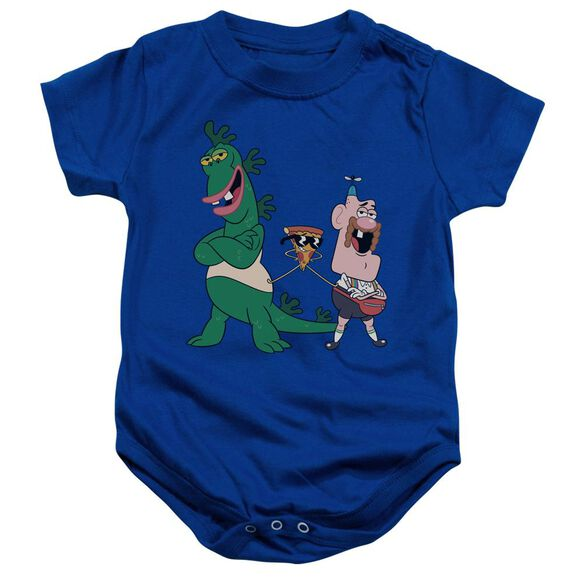 Uncle Grandpa The Guys Infant Snapsuit Royal Blue