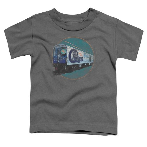 Chicago The Rail Short Sleeve Toddler Tee Charcoal T-Shirt